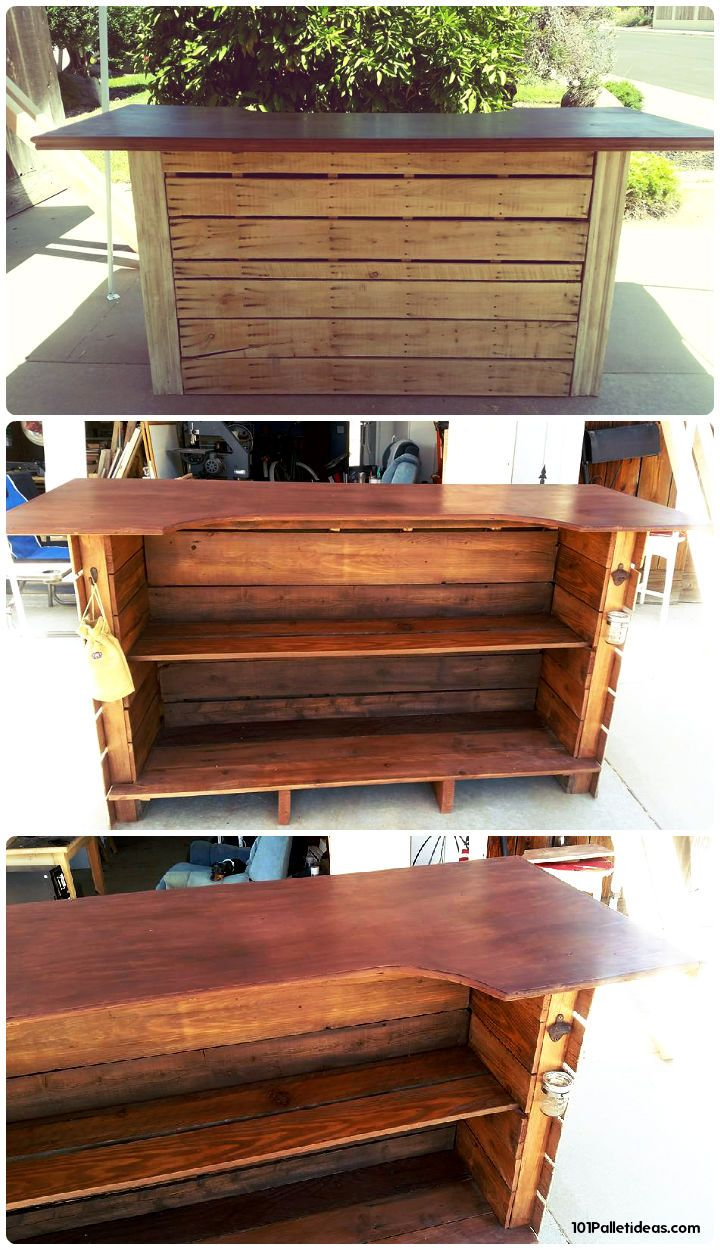 50 Best Loved Pallet Bar Ideas Amp Projects 101 Pallet