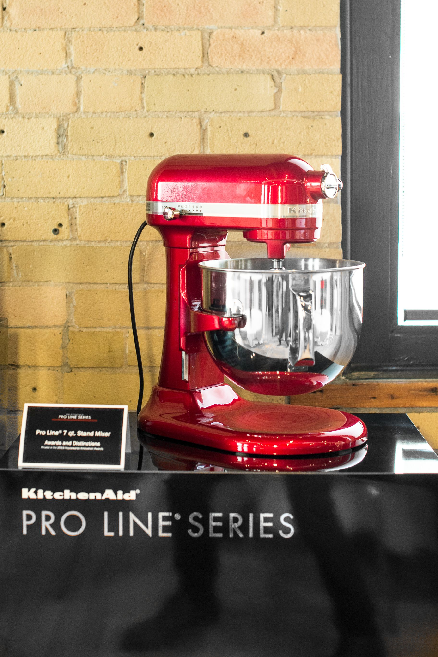 The KitchenAid® Pro Line® Series 7-Qt Bowl Lift Stand Mixer looks ...