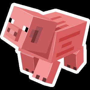 Minecraft Pig Minecraft Stickers Minecraft Pictures Minecraft Pig