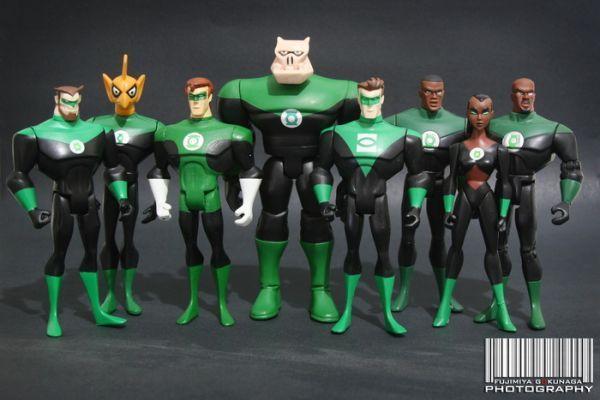 Jlu Kilowog Justice League Unlimited Custom Action Figure Custom Action Figures Justice League Unlimited Dc Comics Action Figures