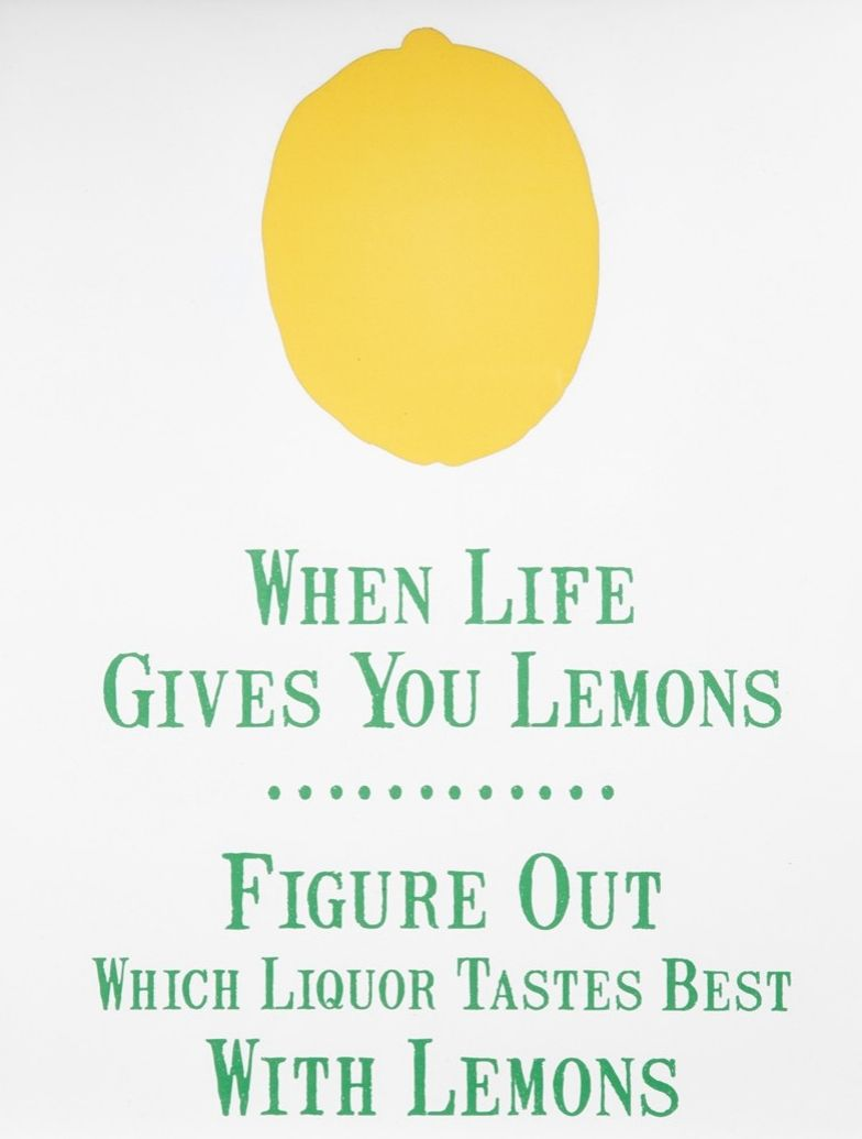 Canton Box Co When Life Gives You Lemons Wall Art Nordstrom Alcohol Quotes Quotes Lemon Quotes