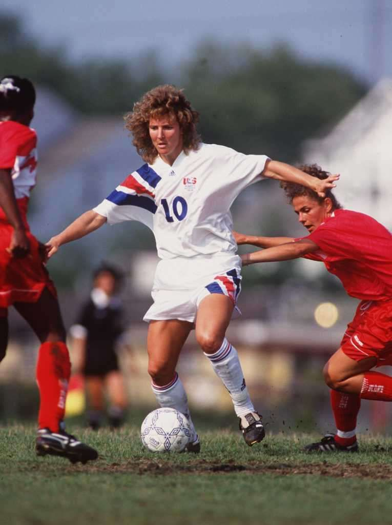 Michelle Akers (10), Midfielder Michelle akers, Soccer