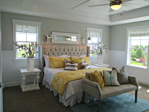 Home Tours  paint color scheme ideas  Gorgeous master bedroom     wall color   Silver Strand  Sherwin Williams. silver strand by sherwin williams   master bedroom and bathroom