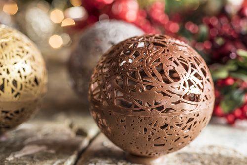 Choco-adornos de navidad