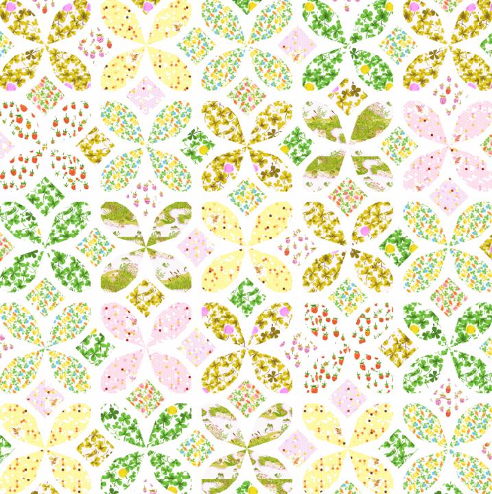 Thread Bias Quilt Design Contest using Briar Rose Fabrics, Results ... : rose quilt fabric - Adamdwight.com