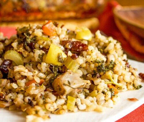 Veggie/vegan rice stuffing