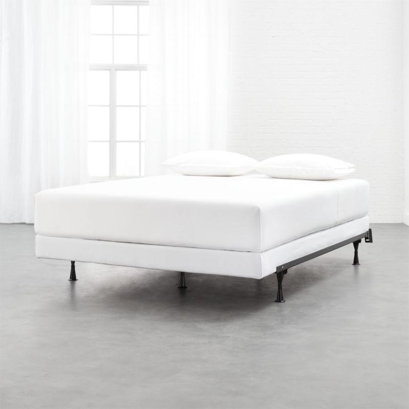 Adjustable Metal Bed Frame Reviews Bed Frame Headboard Black