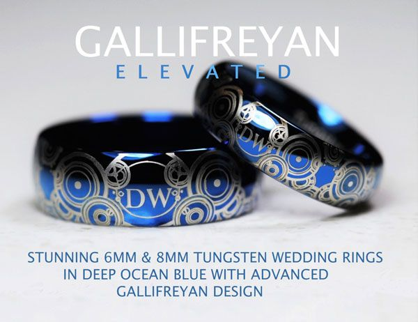 Those Amazing Doctor Who Wedding Ring Sets Have Regenerated Nice