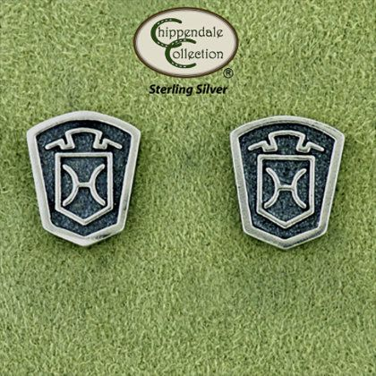 Click Image Above To Buy: Chippendale Jewelry Holsteiner Logo Earrings