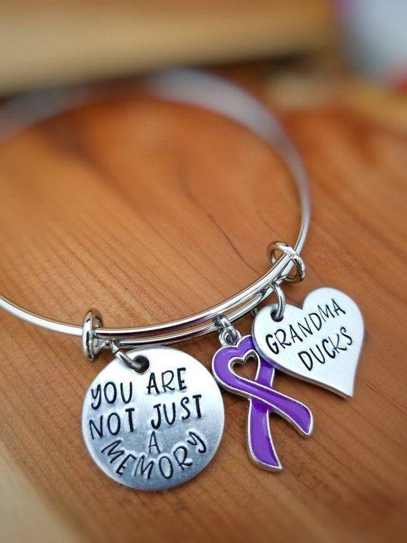 5c6da03f486 Alzheimer Awareness Bracelet - You're not just a Memory - Dementia  Awareness Jewelry - Alzheimer Awa