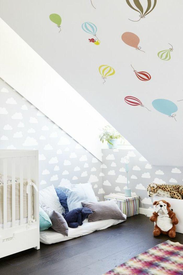 Kinderzimmer mit Dachschräge - 29 tolle Inspirationen für Sie ...