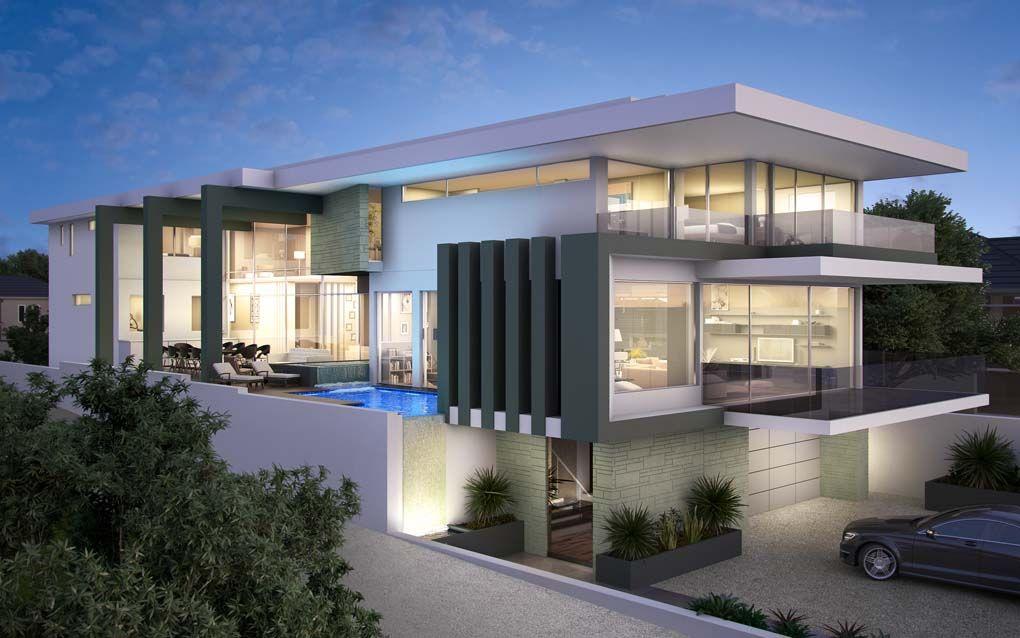 Architecture House Contemporary Luxury Plan Maison Moderne
