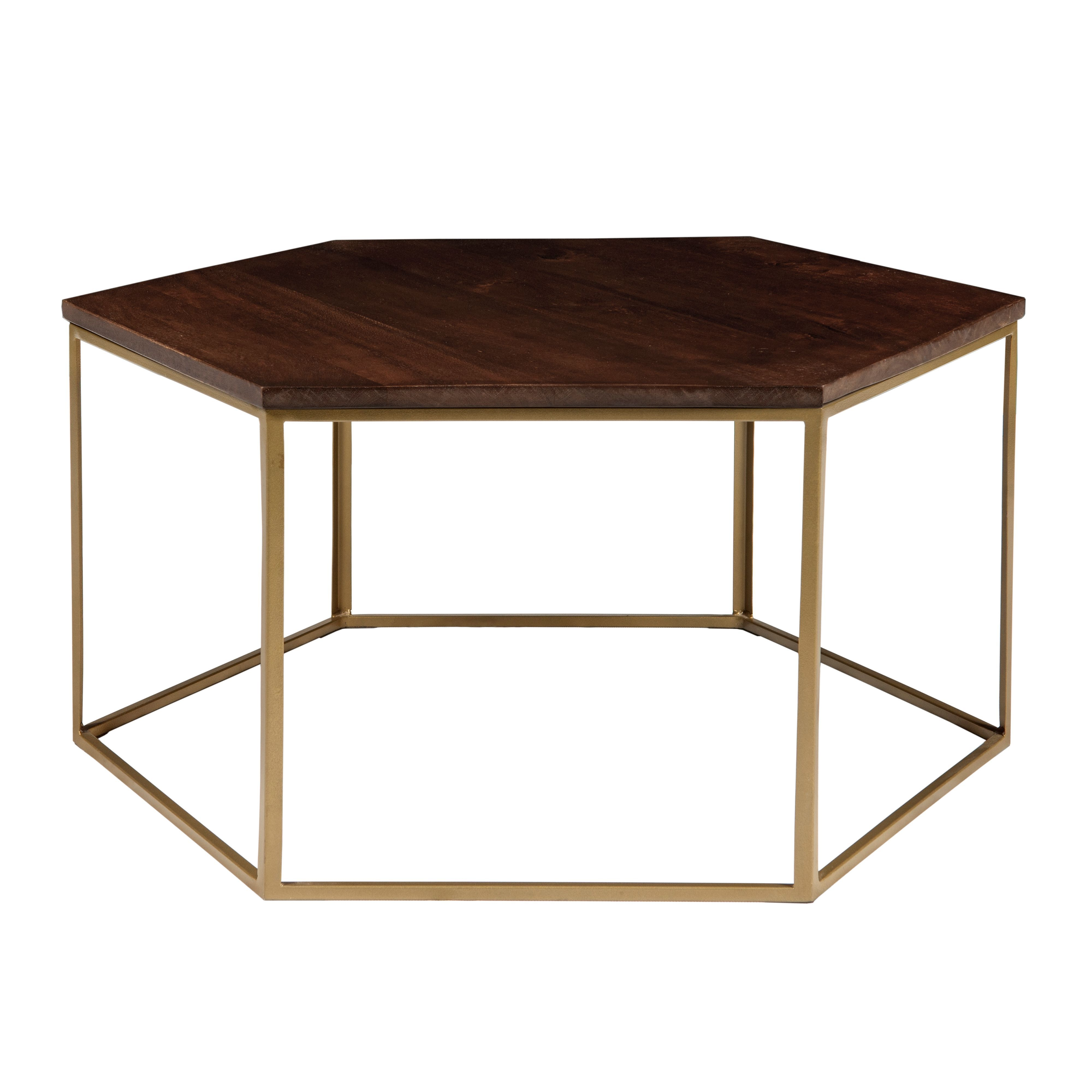 Living by Christiane Lemieux Cleo Hexagonal Coffee Table Coffee