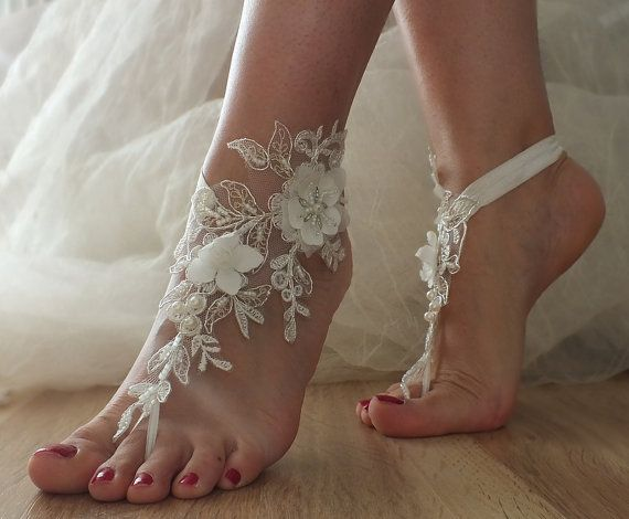 Sandals Beach Shoes Bridal Sandals Lariat Sandals Wedding Bridal Bellydance Gothic Wedding Shoes Summer Wear Handmade Bridal Sandals Wedding Shoes Sandals Beach Wedding Shoes