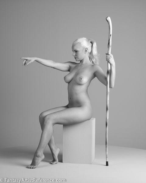Nude figure models art