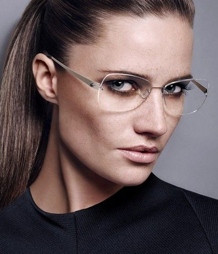 Elegant rimless frame glasses from Lindberg   eyeglasses c72ec3f0e506