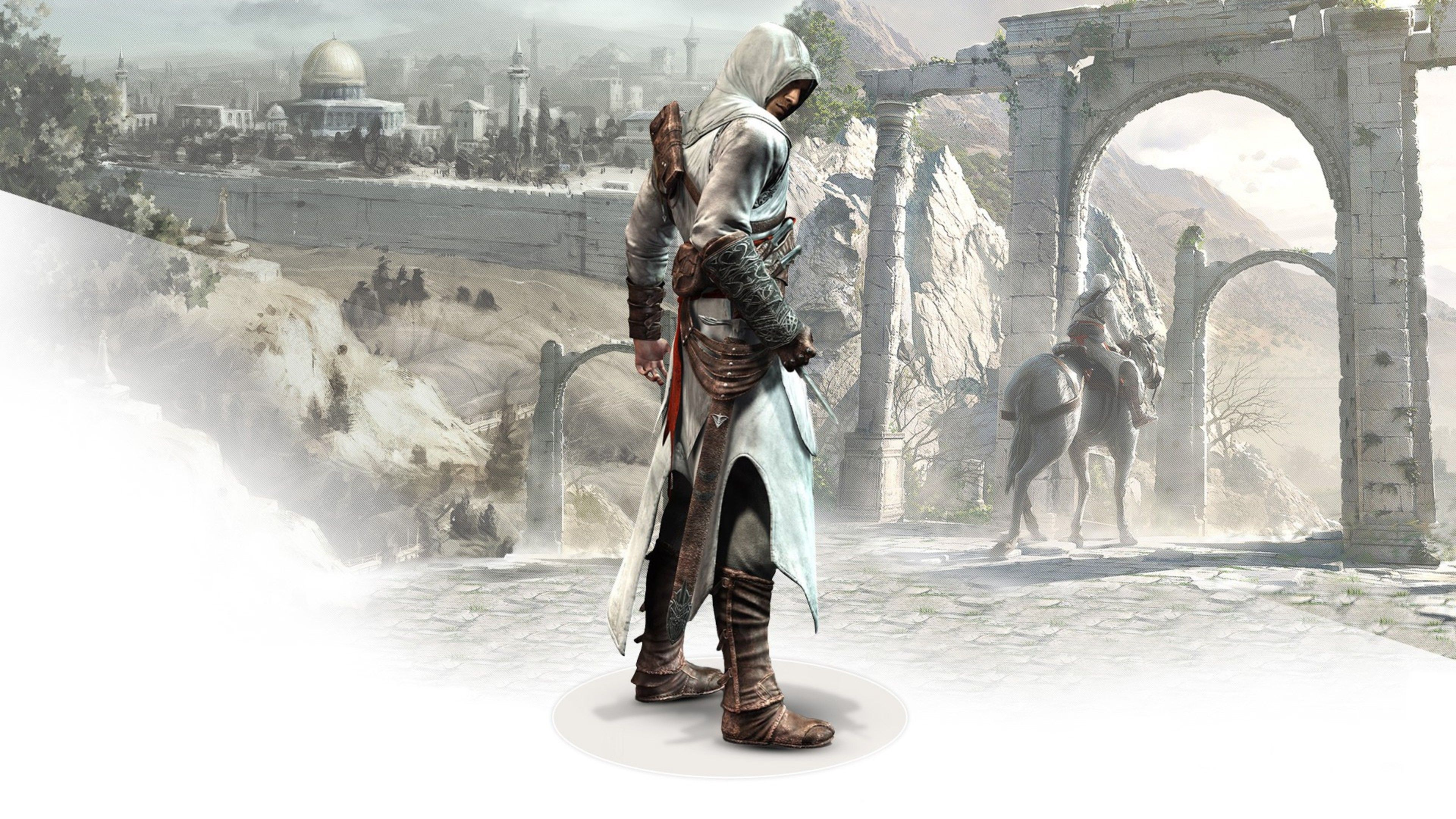 Altair In Assassins Creed Xbox Games Wallpapers Ps Games Wallpapers Pc Games Wallpapers Games Creed Wallpaper Pc Games Wallpapers Assassins Creed Wallpapers