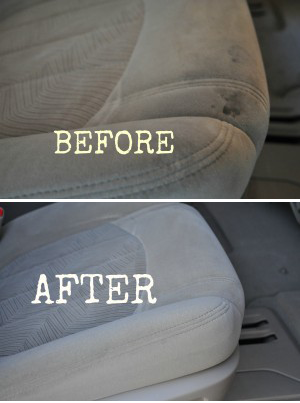 Diy cleaning car upholstery carpet cleaning pinterest cleaning hacks cleaning and diy for How to clean interior car seats