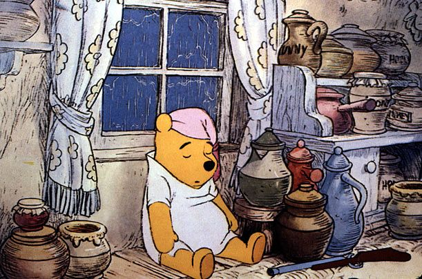 1961, Winnie-the-Pooh became controlled by Disney