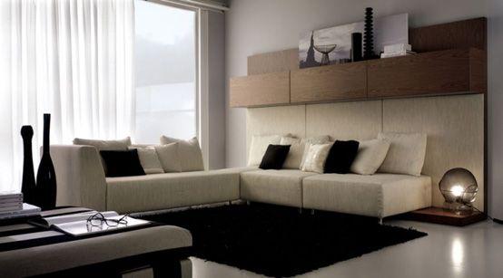 contemporary vs modern design | ... seating and minimalist decor ...
