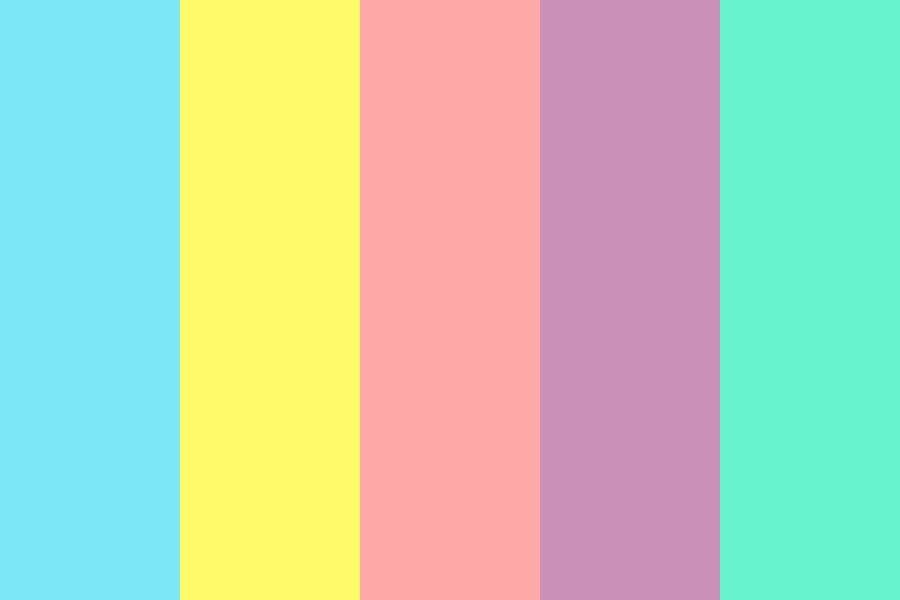Tropical Summer Color Palette In 2020 Color Palette Bright Summer Color Palettes Color Palette Yellow