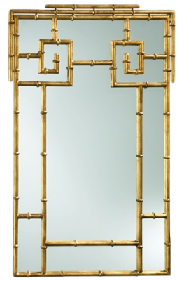 Bamboo Mirror, Zinc Door