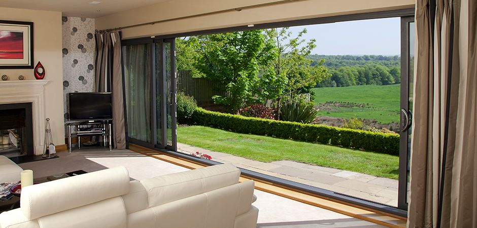 Sliding patio doors big aluminum sliding glass patio door for Large sliding glass doors for sale