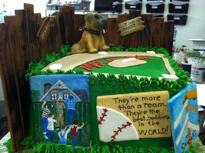 The Sandlot cake Party Cakes Pinterest Sandlot Cake and Birthdays