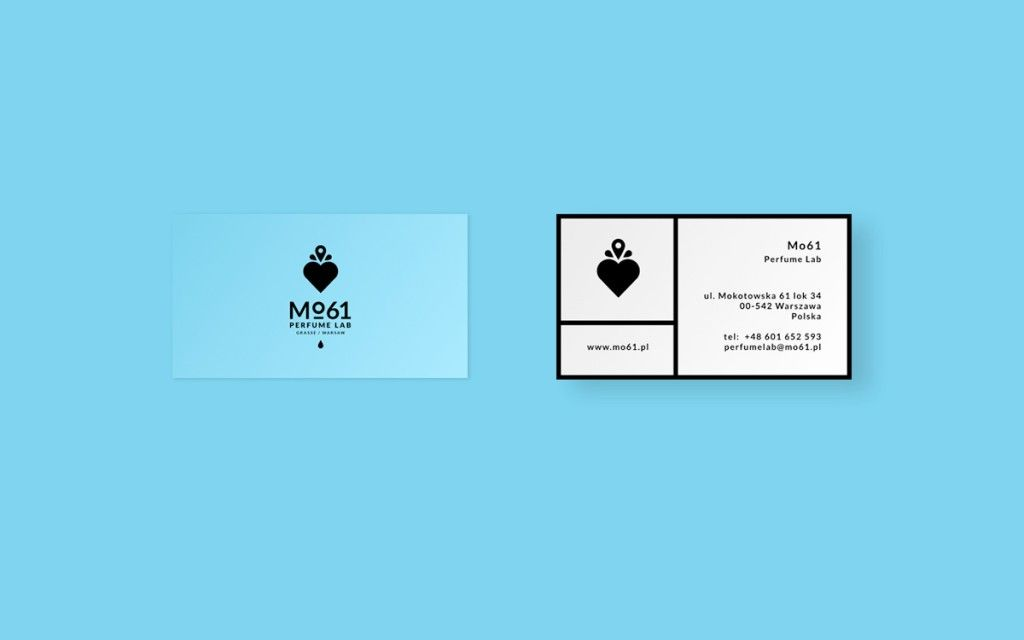 Mo61 Perfume Lab - Business Card Design Inspiration | Card Nerd ...