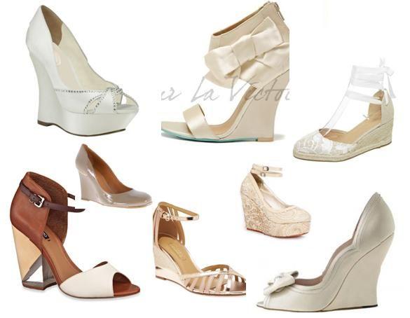 91cc7df6ae Sapatos da noiva para casamento no campo Sapatos Noiva