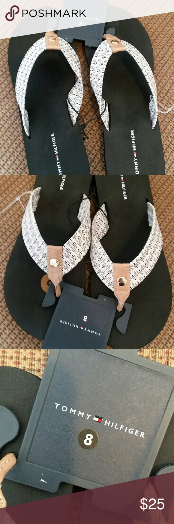 NWT Tommy Hilfiger Sandals NWT Tommy Hilfiger sandals, size 8 Tommy Hilfiger Shoes Sandals