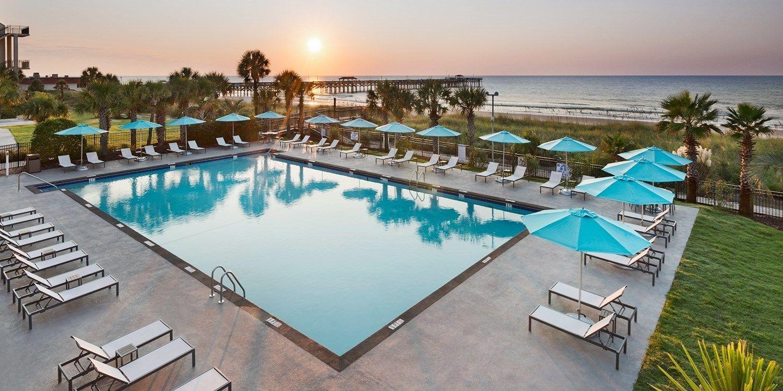 59 & up Myrtle Beach Oceanfront Hotel; Flights