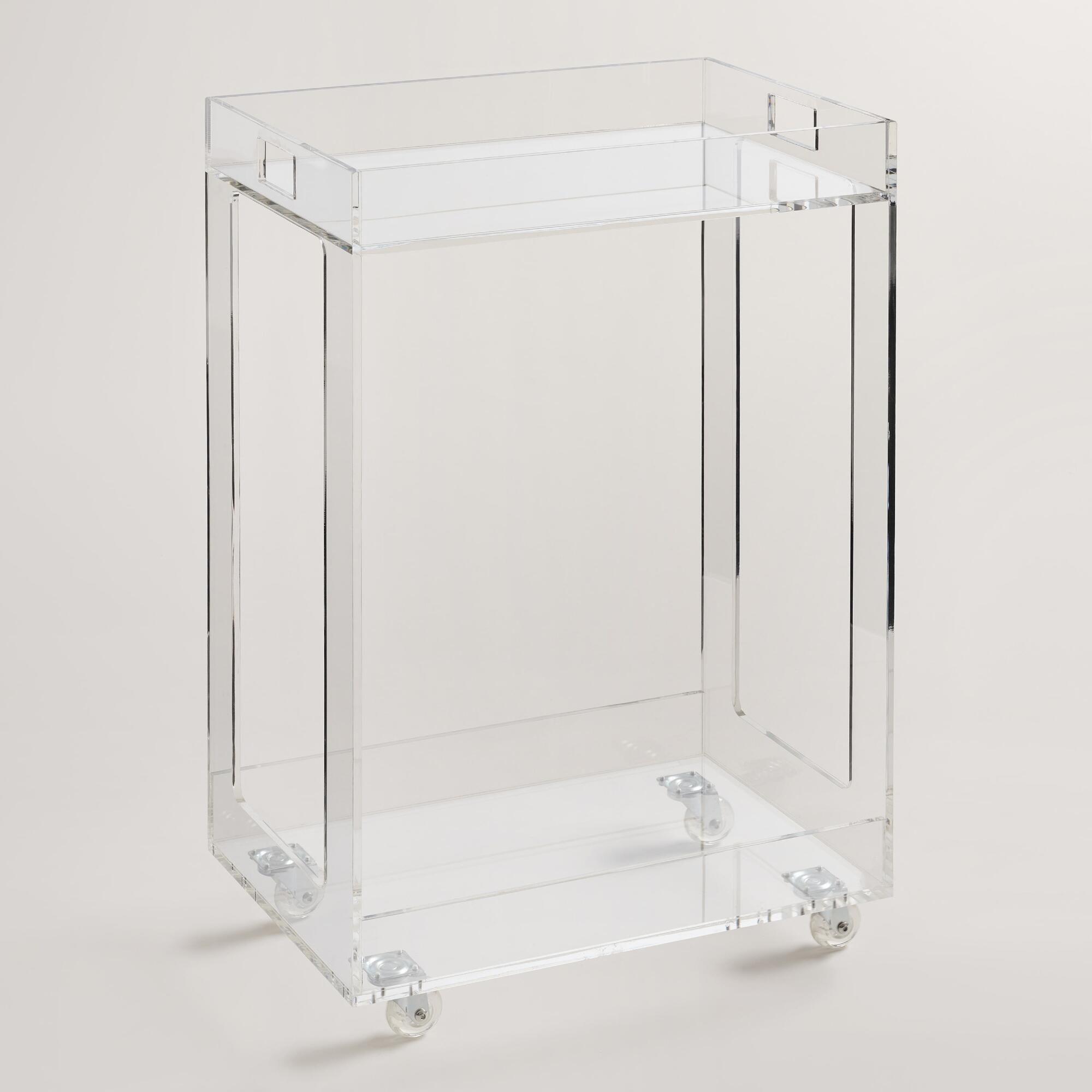 World Market Acrylic Bar Cart | {Design} Decor Favorites ...