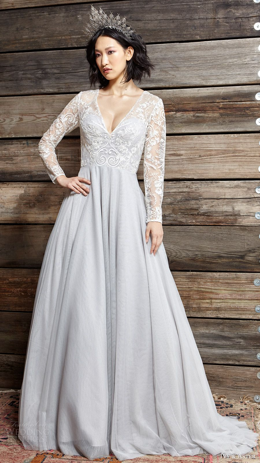 Aline wedding dress  Ivy u Aster Spring  Wedding Dresses u ucA Moment in Timeud Bridal