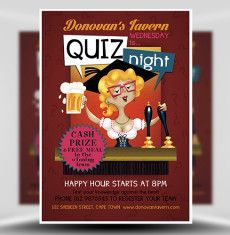pub quiz night flyer template 1 flyer templates by zxt 98 1 fm
