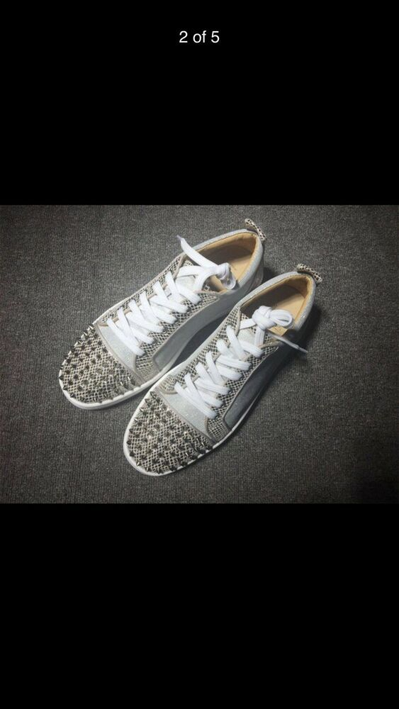 c014caa3350 christian louboutin sneakers  fashion  clothing  shoes  accessories   mensshoes  casualshoes (ebay link)
