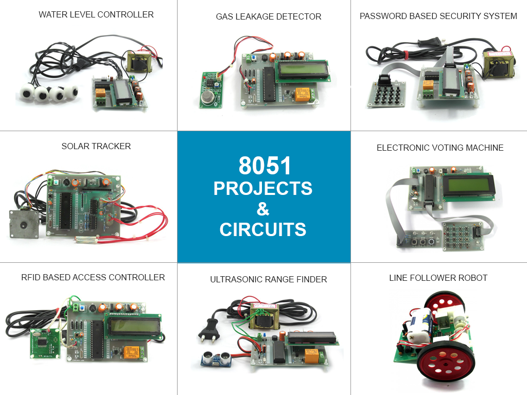 8051microcontroller projects ece eee electronic circuits in 2019