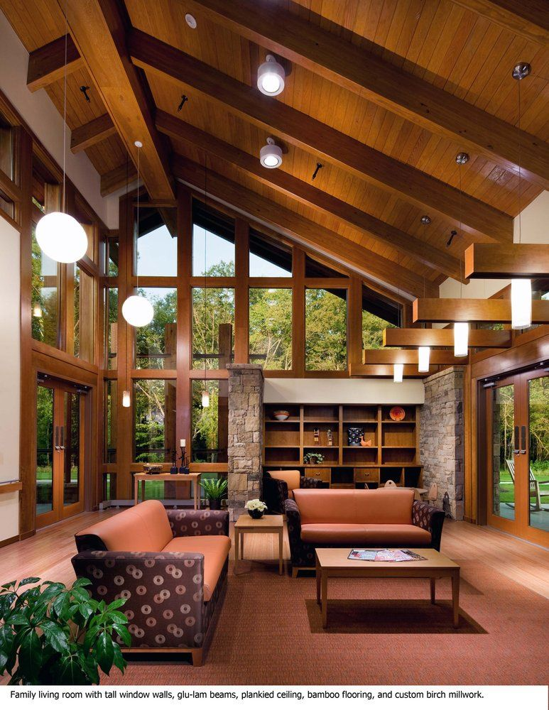 Gallery Of Aia Selects Four Projects For National Healthcare Design Awards 5 Healthcare Design House Log Home Interiors