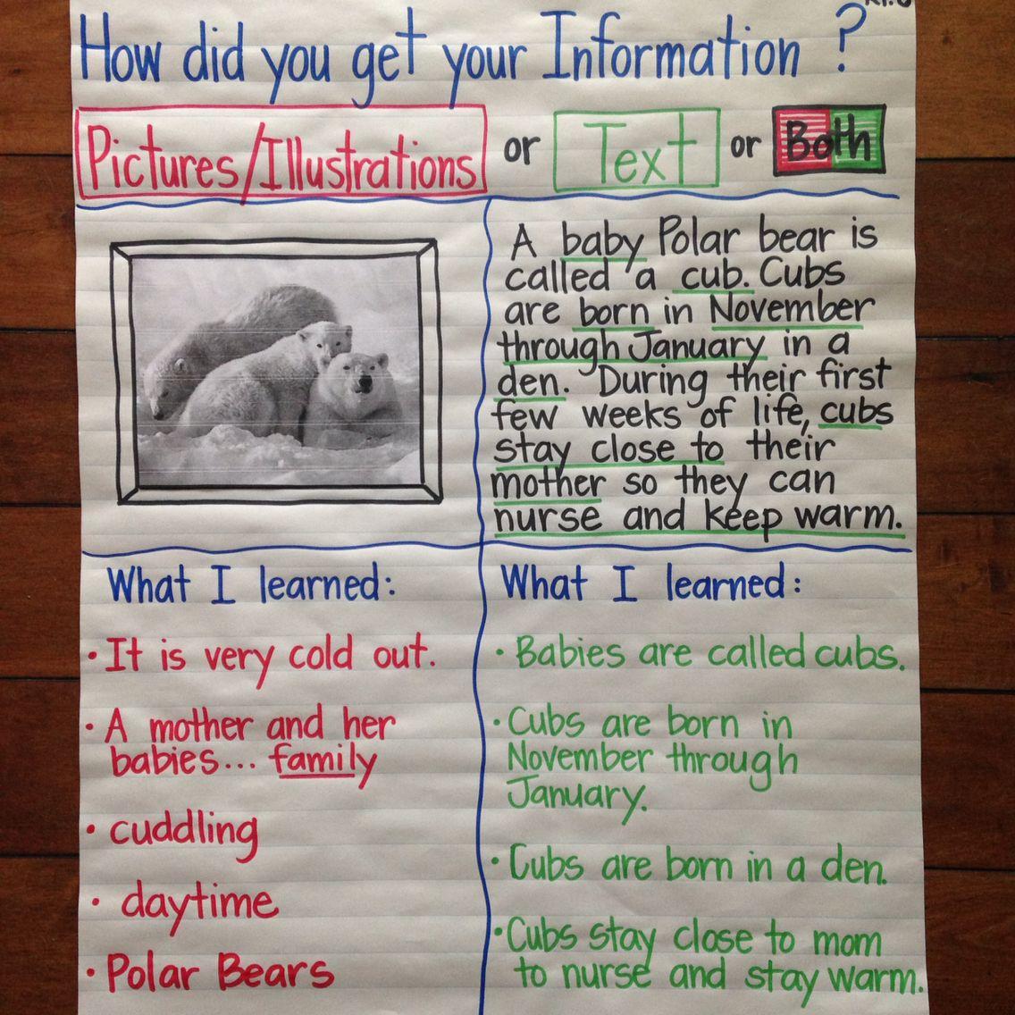 First Grade Ccss Ri 6 Informational Source From Pictures
