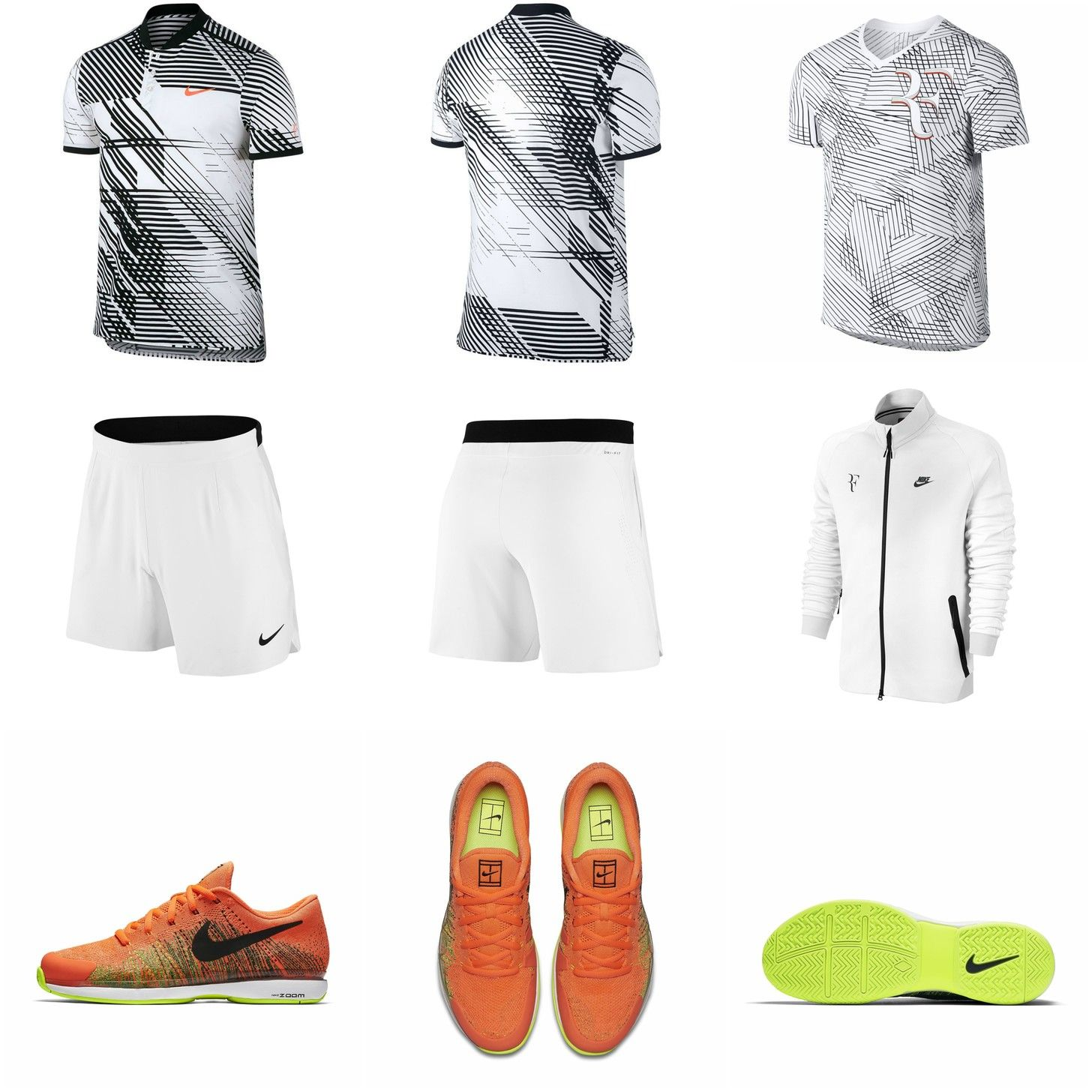 Roger Federer S Outfit For The Australian Open 2017 Tennis Fashion Roger Federer Outfits 2017