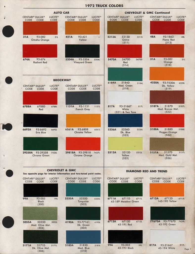 Paint chips 1972 gmc chevy truck 72 truck pinterest paint paint chips 1972 gmc chevy truck nvjuhfo Choice Image