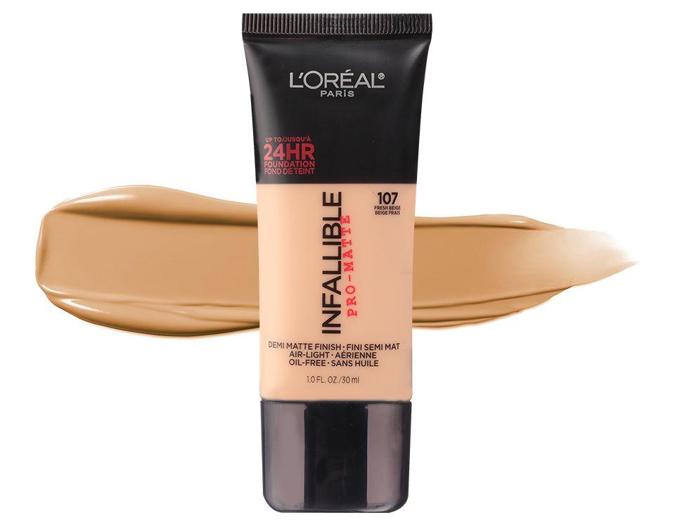 L'Oréal Infallible Pro-Matte Liquid Longwear Foundation | Ulta Beauty | Infallible pro matte foundation, Loreal paris infallible, Infallible pro matte