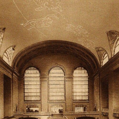 1914 New York City Art Deco Grand Central Station Rotogravure | Art ...