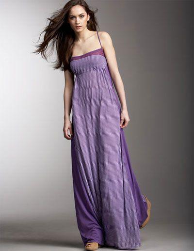 36346b027ff Purple + maxi dress   win!