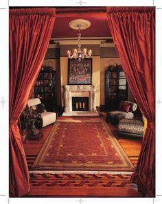 Genial Victorian Doorway Curtains | Victorian Portieres   Rod Pocket