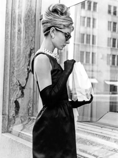 Audrey Hepburn Breakfast at Tiffany's Iconic Shot Photo by Movie Star News at AllPosters.com