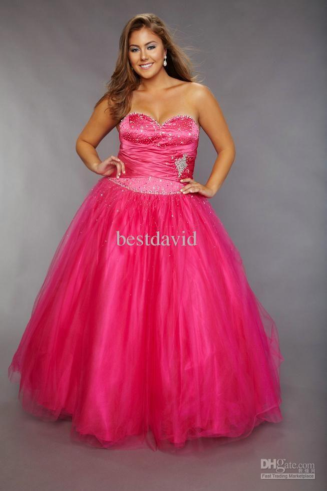 PLUS SIZE FORMAL WEAR | Wholesale Prom Dress - Buy Plus Size Fuchsia ...