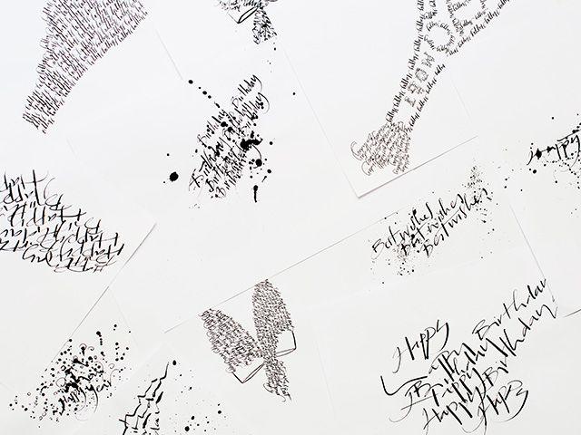 Nicolas Ouchenir: Paris' preferred calligrapher | Buro 24/7