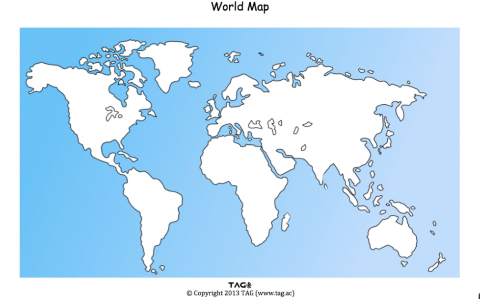 Interactive World Map Andor Download Blank Map Provides Data - Blank world map interactive