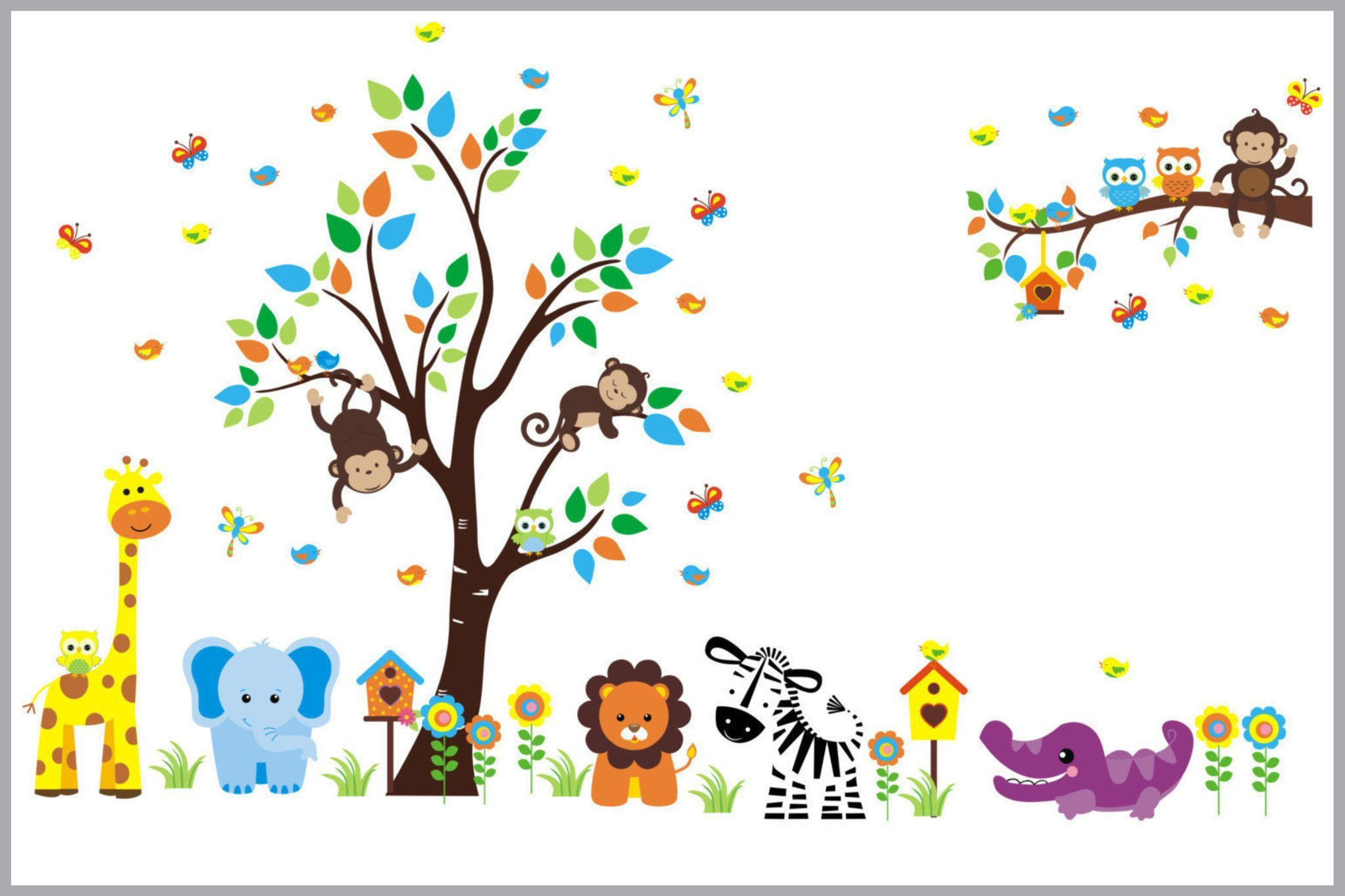 Best Nursery Decals Huge Layout with Lots of Cute